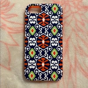 NWOT Vera bradley iPhone 5 phone case